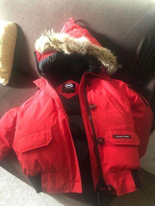 XS red Canada Goose