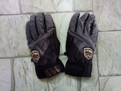 MILLET Half Leather Gloves