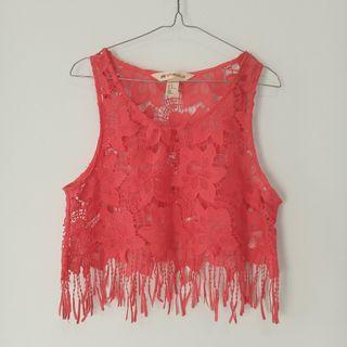 Lace Crop Top HnM #1111special