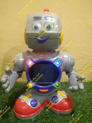 Fisher price casey the kinderbot educational robot..