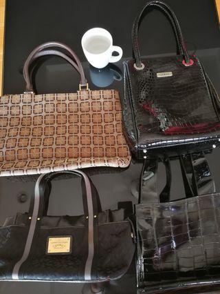Lot of Lady Handbags