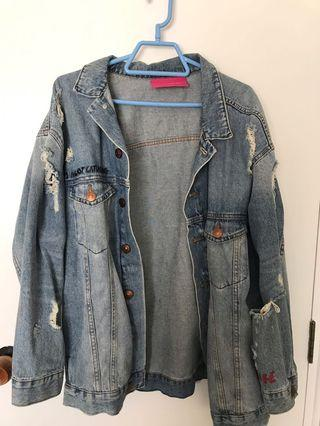 H&M x Zara Larson denim jacket