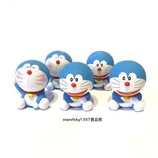 新品 多啦A夢 扭蛋 表情 公仔 日本 限定 轉蛋 模型 藍色 小叮噹 萬代 擺飾 附原蛋紙 附原蛋殼