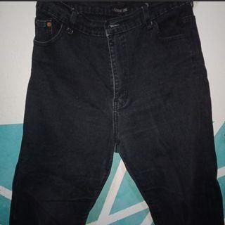 Boyfriend Jeans Hitam #1111special