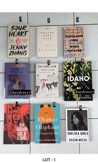 Preloved Imported Books: 150k/pc Free Shipping Jadetabek