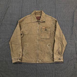 Marlboro Classics 古著咖啡色三口袋工裝外套(XL)