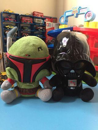 Starwars Darth vader & Boba fett