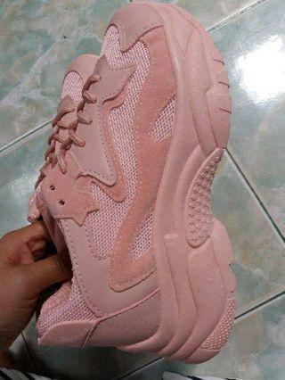 #1111special Sepatu Pink Ala Korea