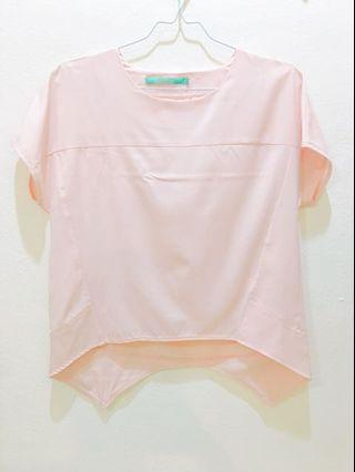 Baju atasan Soft pink top/blouse