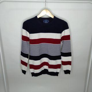 Erigo Sweater Blue White Red