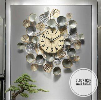 Pre-order 4 Weeks Clock Iron Wall
