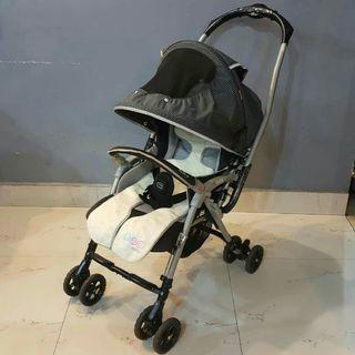 Aprica Baby Strolley (Grey) Aprica