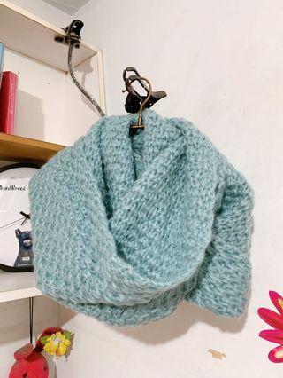 暖暖針織脖圍圍巾