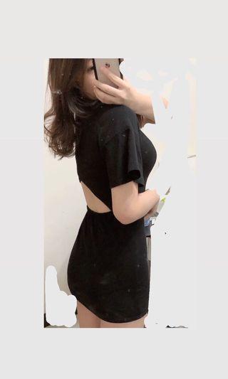 連身露背洋裝 #剁手時尚