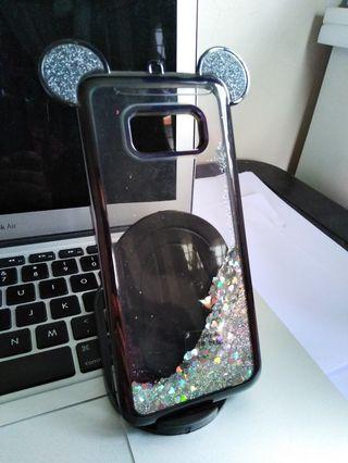 Samsung s8 silicone liquid case