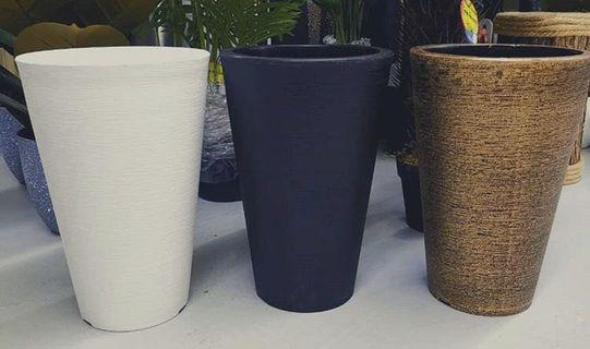Fiber pot (available in 3 color)