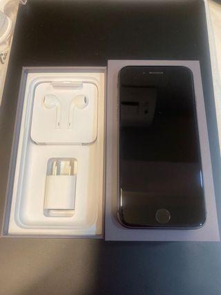 iphone8 i8 4.7吋 黑色64GB 二手 送犀牛盾手機殼 配備完整 電池健康度85%