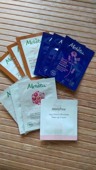 保養品/精華/乳液/化妝水-試用包一批