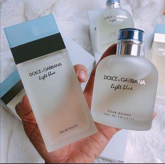 Offer Couple Set Perfume Dolce&Gabbana Light Blue #1111