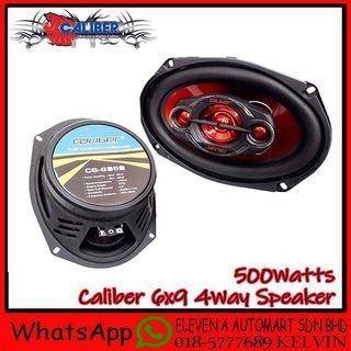 """CALIBER 6x9"""" 4-Way Speaker 500Watts"""