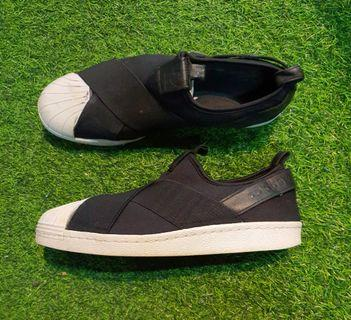 ADIDAS Superstar Slip On ( Black)