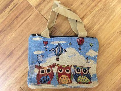 (Brand New) Owls Bag