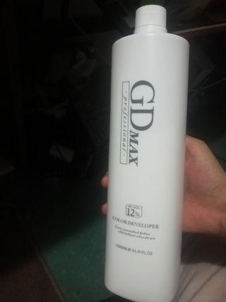 Hair bleach with bleaching powder