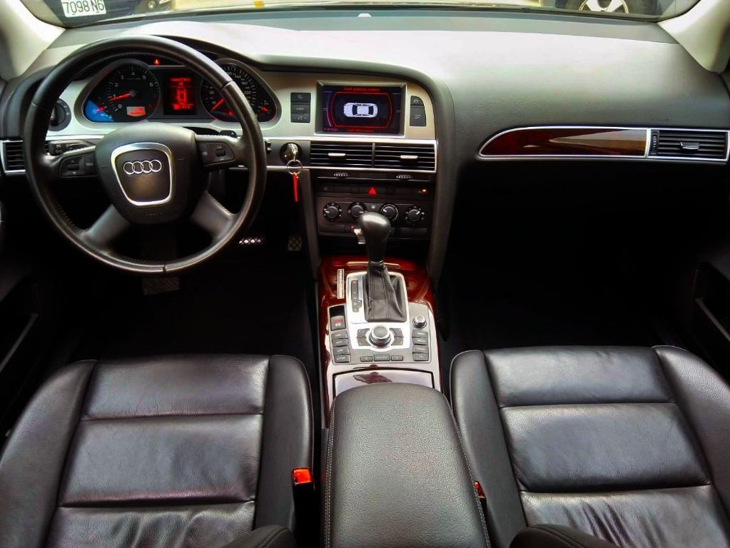 2008年式 AUDI A6 渦輪TFSI 僅跑8萬 柴油車 超級省油 內外超級漂亮