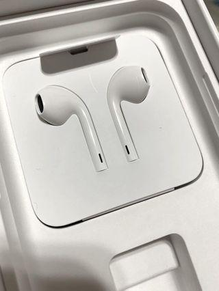 iPhone 11 原廠扁頭耳機 original apple headset