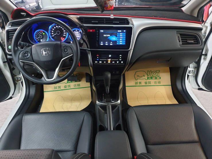 [出售]2017 省油 漂亮 一手 認證車 HONDA CITY 只跑4萬3 免頭款 可分期