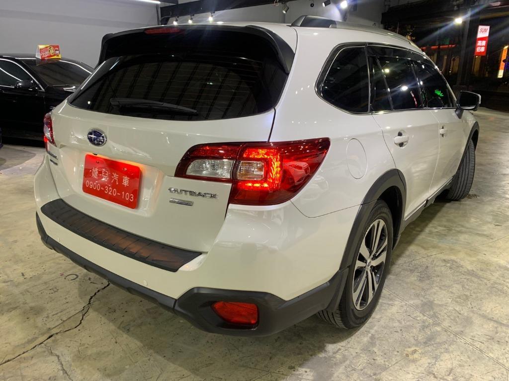 正2018年 總代理Subaru Outback 2.5i-S ES  頂級版珍珠白  免百萬