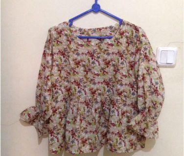 #1111special BLOUSE FLOWER