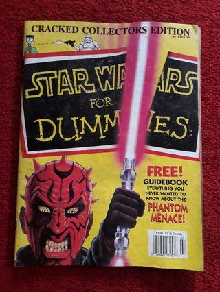 Vintage Cracked Collector Editor #119 , Star Wars For Dummies 1999