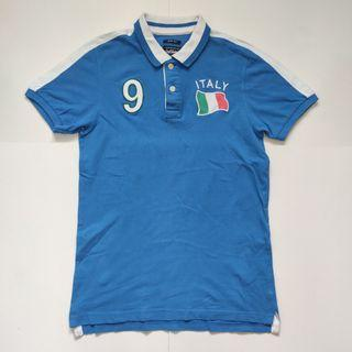 Guy Vision Italy slim fit Polo shirt blue 1