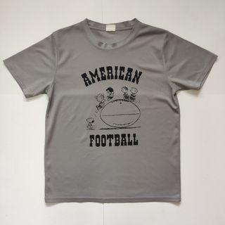 Peanuts Snoopy jersey tshirt grey 2