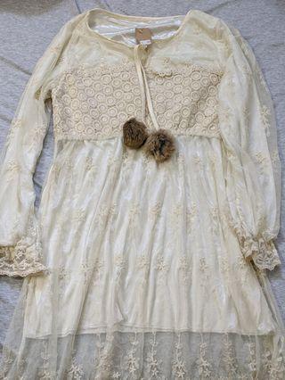 日本 蕾絲洋裝