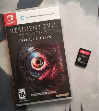 RESIDENT EVIL REVELATION COLLECTION 2 IN 1  With box