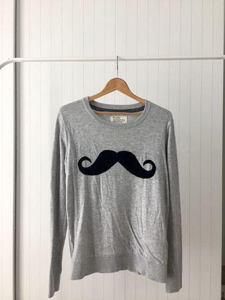 Moustache Knitted Wear