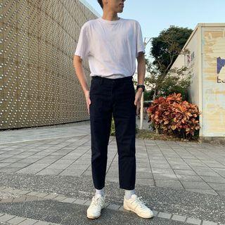 Uniqlo U 上款下窄牛仔褲 深藍色 (407312)