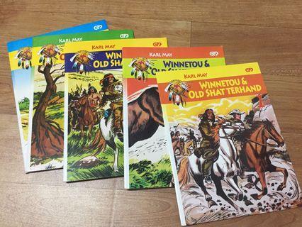 Komik Winnetou & Old Shatterhand 5 edisi