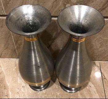 馬來西亞錫製花瓶