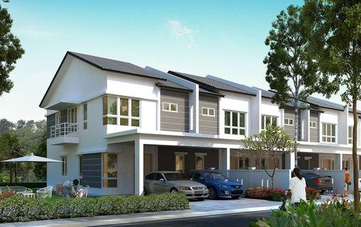 [Monthly Installment RM2k Only!!] FULL LOAN Freehold Double Storey 0% D/P