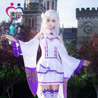RENT/SALE Re:Zero Emilia Cosplay Costume