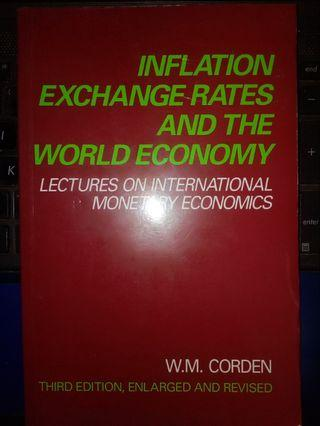 Inflation Exchange Rates and The World Economy-W.M Corden