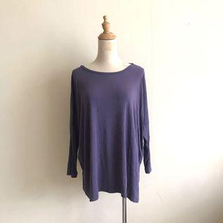 Poplook Maternity Purple Top