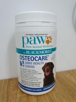 PAW Blackmores Osteocare Joint Health chews dog supplement