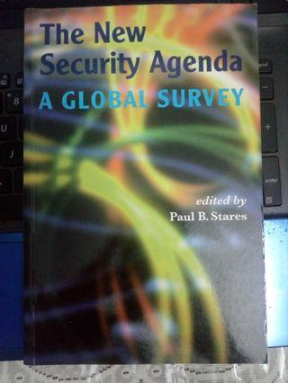The New Security Agenda:A Global Survey -ed by Paul B.Stares