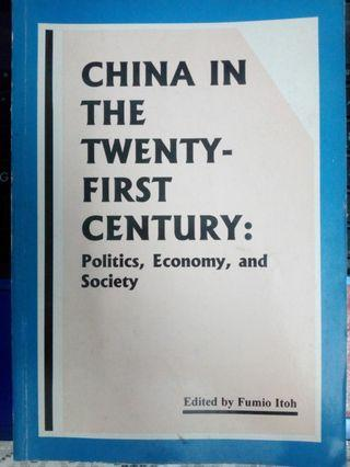 China In The Twenty-First Century:Politic,Economy,and Society