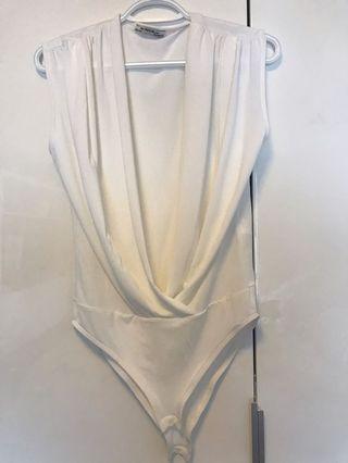 Zara wrap bodysuit