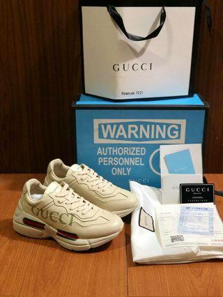 Guccy rhyton leather BNIB